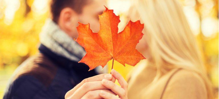 L'automne, une saison <br>propice à l'amour!